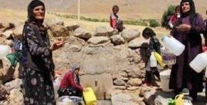 بیآبی در روستای حصار کنگاور