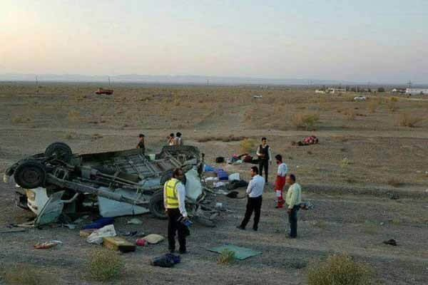 حادثه تصادف اتوبوس ۱