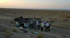 حادثه تصادف اتوبوس ۲