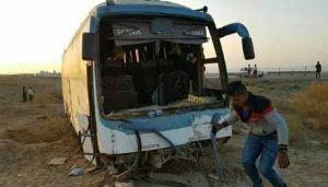 حادثه تصادف اتوبوس
