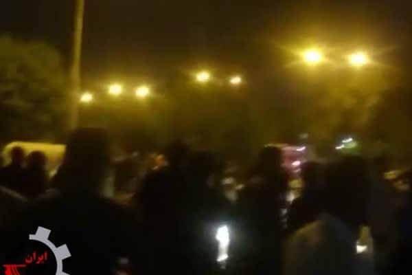 تجمع مالباختگان خوزستان تظاهرات