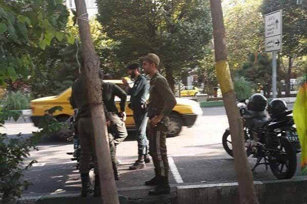 تحصن مالباختگان تهران