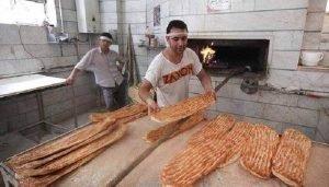 قیمت نان