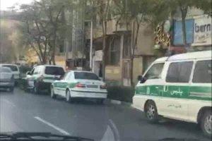بسیج ماموران امنیتی در مشهد