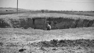 فروچاله در دشتهای همدان
