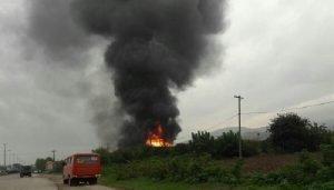 آتشسوزی در بهشهر