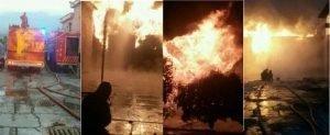 آتشسوزی وسیع