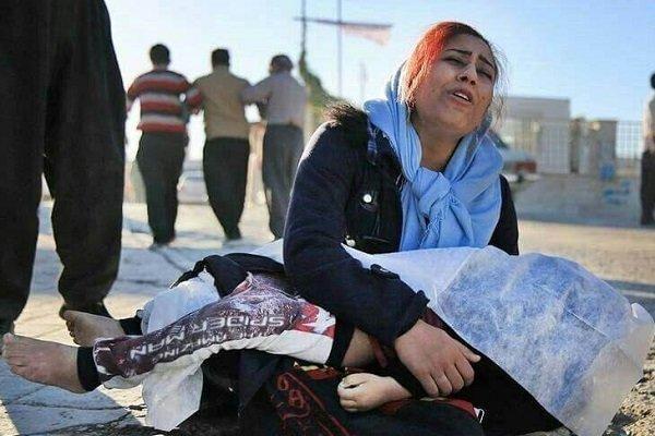 تصاویری دردناک از مادران در زلزله کرمانشاه