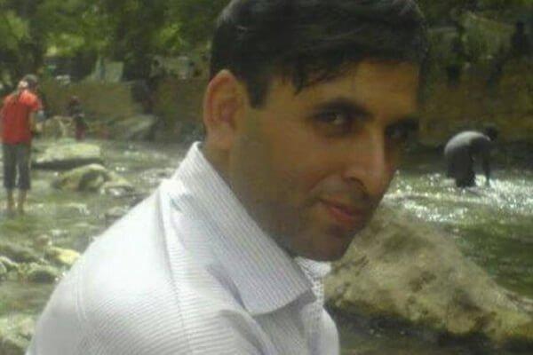 جان باختن صدیق عزیزی، نماینده کارگران فولاد زاگرس، در یک تصادف