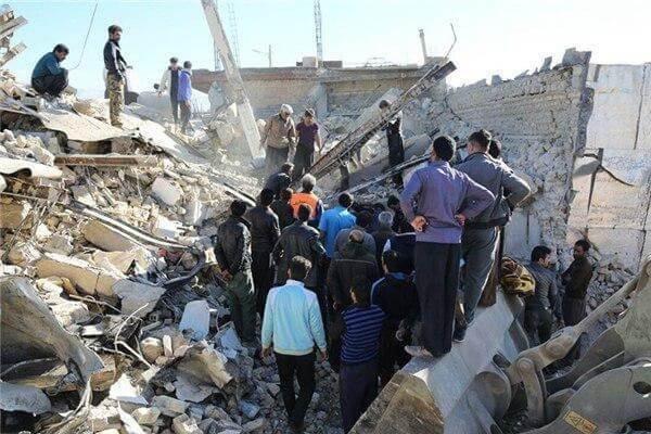 گزارشی در باره زلزله یا سوداگری با جان انسانها