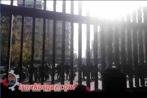 تظاهرات دانشگاه تهران