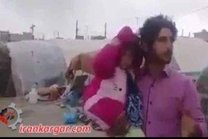 یک پدر زلزله زده