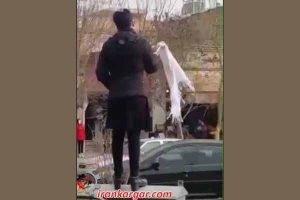 دختر خیابان انقلاب اصفهان