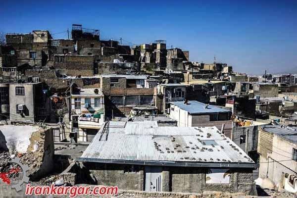 سکونتگاههای غیر رسمی استان البرز
