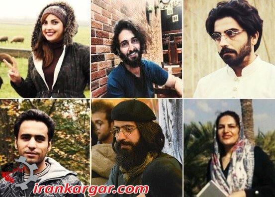 بازداشت دستکم ۶ تن از فعالان مدنی در یک روز، بیلان «حقوق شهروندی» دولت روحانی