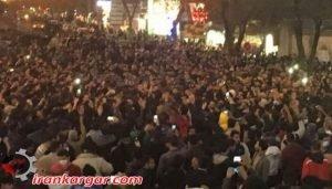 وحشت مدیران نظام از خروش سراسری مردم و اژدهای نابود کننده جمهوری اسلامی