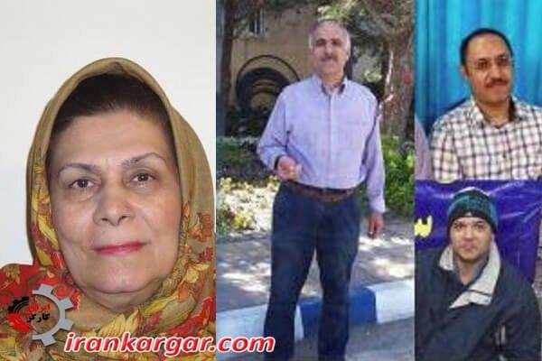بازداشت و انتقال خانم مریم کلنگری ۶۵ ساله با واکر به زندان اراک