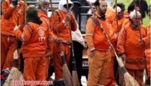 کارگران شهرداری تاکستان