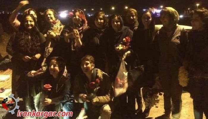 بازداشت شدگان ۸ مارس