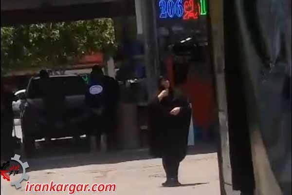 مادر فقیر در مشهد
