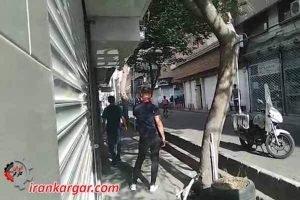 درگیری جوانان تهران با بسیج