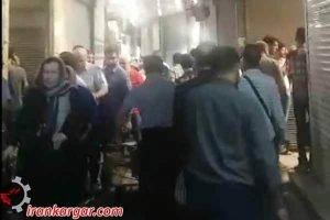 تهران اعتصاب بازاریان