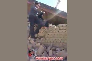 تخریب ظالمانه خانه مردم توسط شهرداری خرم آباد