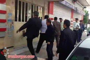 حمله وحشیانه ماموران شهرداری بهارستان