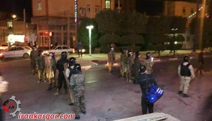 تظاهرات خرمشهر