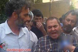 دروغگو دروغگو ؛ شعار هزاران کشاورز خطاب به استاندار اصفهان