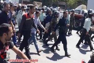 اصفهان تظاهرات