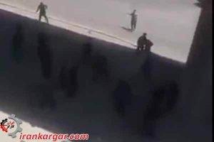 اصفهان درگیری تظاهرات