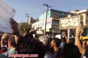 راهپیمایی بزرگ مردم مریوان