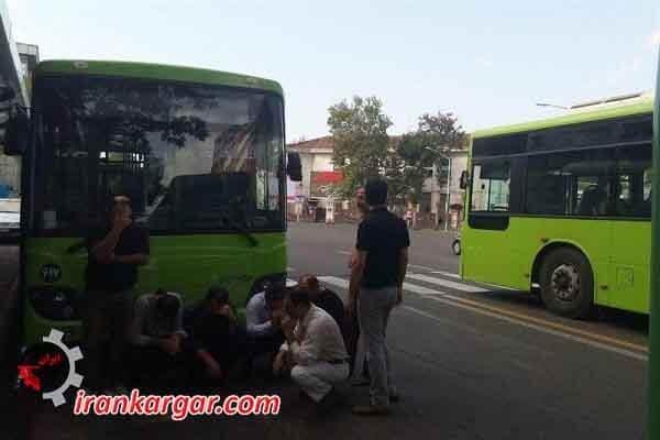 بیمه رانندگان قراردادی اتوبوسرانی رشت