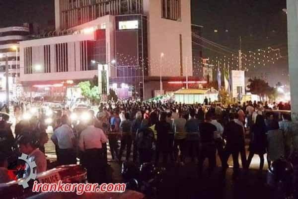 تظاهرات کرج عکس روز