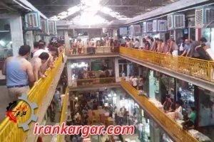 اعتصاب بازاریان تهران