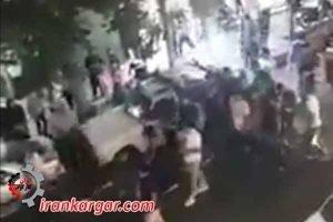 مرگ بر گرانی تظاهرات قرچک ورامین