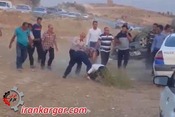 کتک زدن پلیس