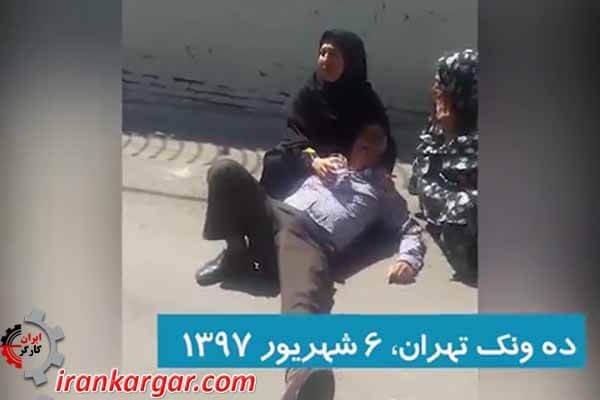 وضعیت دردناک یک خانواده محروم بعد از ابلاغ حکم تخلیه و تخریب شهرداری