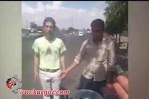 کتک زدن و جراحت دو نوجوان دستفروش