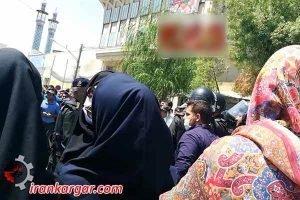 زنان نجف آباد تظاهرات