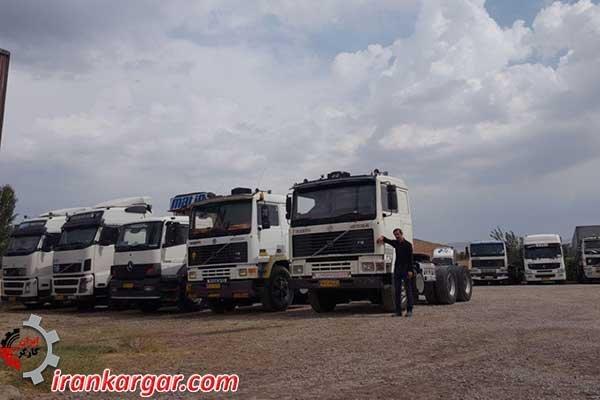 اعتصاب سراسری کامیونداران در شهرهای مختلف