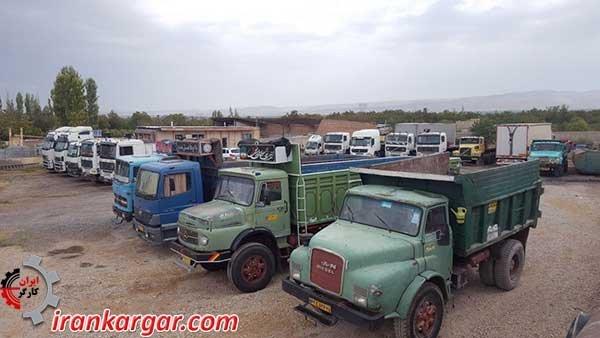 آذرشهر.اعتصاب-کامیونداران
