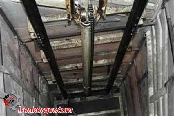 سقوط مرگبار آسانسور