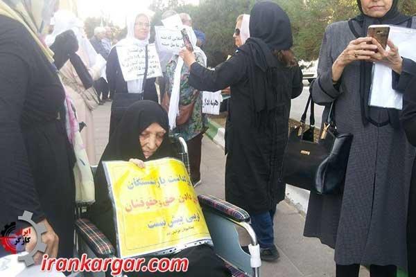 تجمع بازنشستگان کشوری و پیشکسوتان پرستاری در یزد و مشهد