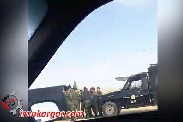 بسیج نیروهای امنیتی در شاپور اصفهان برای ارعاب و جلوگیری از اعتراضات
