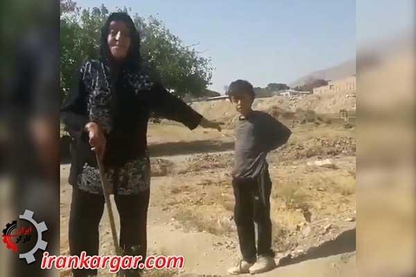 رندگی در زیر درخت در قرن بیست و یکم در تهران پایتخت ایران!؟