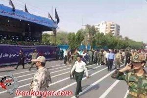 حمله مسلحانه به جایگاه رژه نیروهای نظامی در اهواز