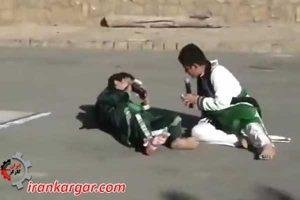 زیر گرفتن هولناک هیئت عزاداران توسط یک جرثقیل در سبزوار
