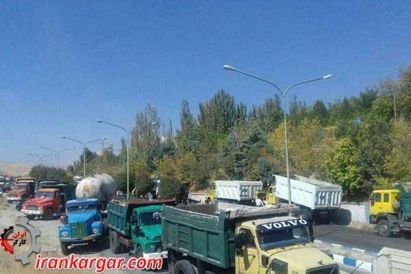 اعتصاب سراسری کامیونداران ایران پرقدرت و گسترده در روز چهارم، سهشنبه ۳مهر